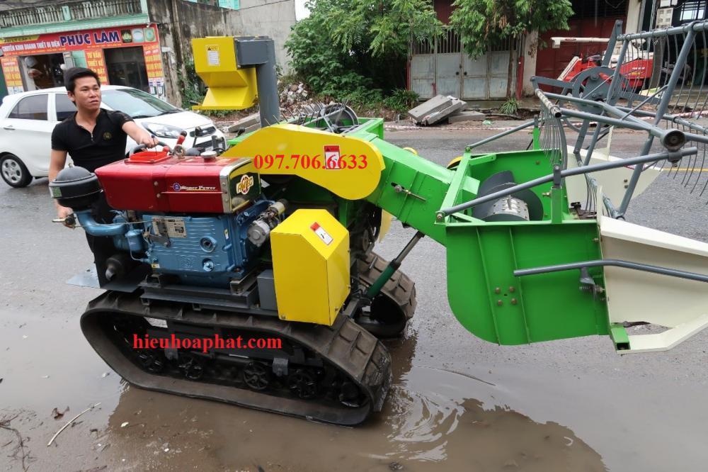 Máy gặt mini gặt lúa đổ 4LZ-1.0
