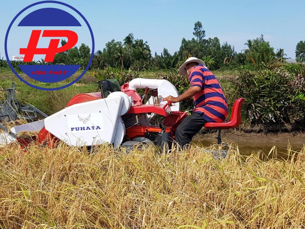 Máy gặt lúa mini liên hoàn HP 4LZ-1.2