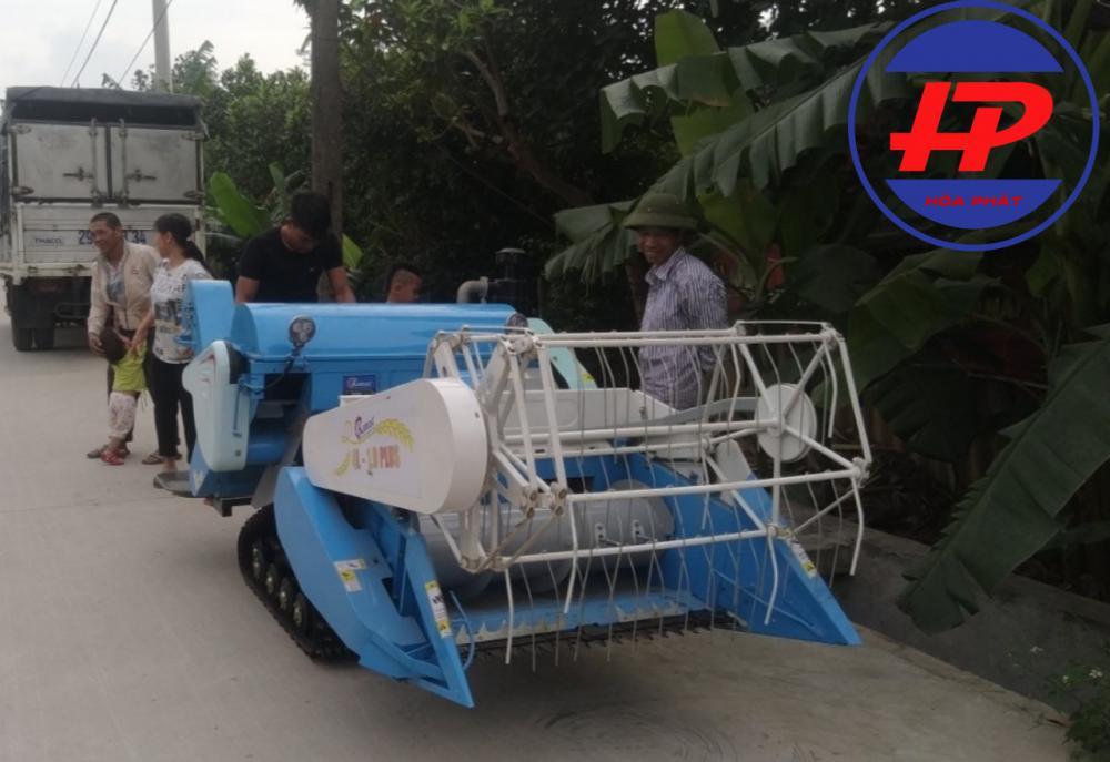 Máy gặt lúa mini Liên hoàn 4L-1.0 Plus