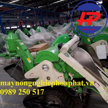 Máy gặt lúa liên hợp Mini HP 4LZ-0.6LA