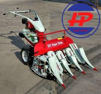 Máy gặt lúa tự bó  4K-90 chạy dầu