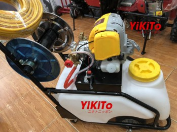 Máy phun thuốc xe đẩy Yikito GX35 Nhật Bản